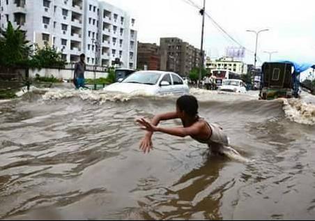 Water-logging-Dhaka
